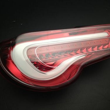 Valenti Clear Red LED Tail Lights For Toyota 86 Ft86 Gts Subaru Brz Zn6 Dynamic Blinker