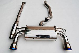 Invidia Q300 O2 back Exhaust suit EVO X Lancer