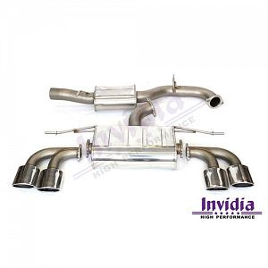 Invidia VW MK7 Golf R Q300 Turbo Back System