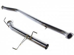 DMAX Stainless Steel Exhaust -Single Straight Pipe Style - S14/S15