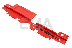 Grimmspeed Radiator Shroud w/ Tool Tray (Liberty/Outback 04-09) - Red
