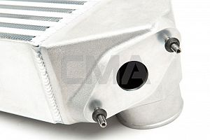 Grimmspeed Top Mount Intercooler Kit (Liberty GT 04-09) - Uncoated/Silver
