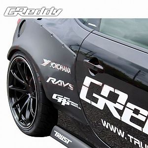 TRUST GReddy Rocket Bunny Ver.1 Side Skirts for TOYOTA 86 ZN6 FA20
