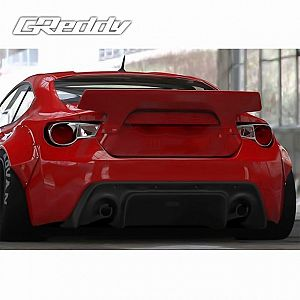 TRUST GReddy Rocket Bunny Ver.2 Rear Duck Tail Wing for SUBARU BRZ ZC6