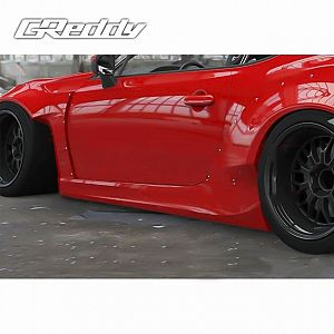 TRUST GReddy Rocket Bunny Ver.2 Side Skirts for TOYOTA 86 ZN6 FA20