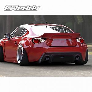 TRUST GReddy Rocket Bunny Ver.3 Rear Duck Tail Wing for SUBARU BRZ ZC6