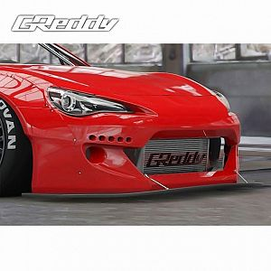 TRUST GReddy Rocket Bunny Ver2 Front Lip Spoiler for TOYOTA 86 ZN6 FA20
