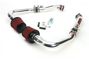 Stillen Generation 3 Ultra Long Tube Dual Intake Kit With Dry Filters - Nissan 370Z 09+ Z34