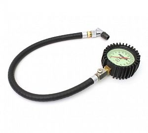 Perrin Tire Pressure Gauge 0-60psi w/Swivel Adapter