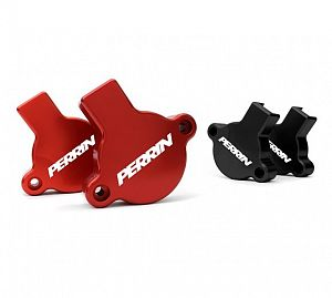 Perrin Cam Solenoid Guards (BRZ/86) - Red