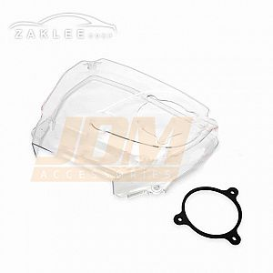 ZAKLEE Clear Timing Belt Cover & Bolt Kit for NISSAN STAGEA C34 RB20DE
