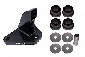 Torque Solution Mustache Bar Eliminator w/ Urethane Bushings: Mitsubishi Evo 7/8/9 2001-2006