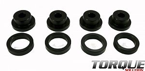 Torque Solution Drive Shaft Carrier Bearing Support Bushings: Galant VR4 1991,92,93