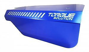 Torque Solution Engine Pulley Cover (Blue): Subaru WRX 2015+ & Forester XT 2014+ FA20DIT