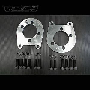 URAS Rear Camber Plates For PRIUS ZVW30 L&R 3 Degree Negative Camber SS400 Steel