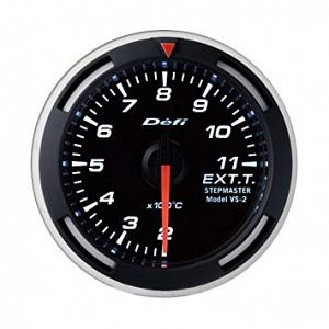 Defi Racer Gauge Exhaust Temperature Gauge SI Models 200 - 1100 deg C