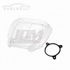 ZAKLEE Clear Timing Belt Cover & Bolt Kit for NISSAN LAUREL C33 RB25DE