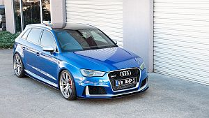 Audi RS3 8V PFL Hatch Front Splitter V2