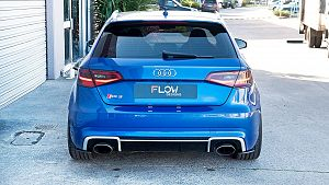 Audi RS3 8V PFL Hatch Rear Spats