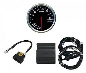 Defi CAN Driver & ADVANCE BF 80mm Tachometer Set White 80mm