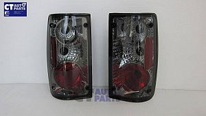 Altezza Smoked Black Tail Lights For 1989-1997 Toyota Hilux Ute
