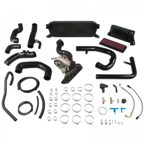 AVO Stage 1 Turbo Kit with OEM Style BOV, Panel Filter - No Reflash Tool (16+ MX-5)