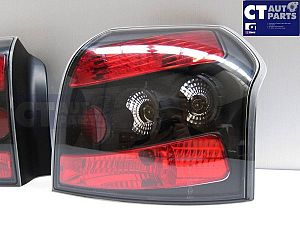 Black Altezza Tail Lights For Toyota Corolla Hatch 01-07 Runx Jdm