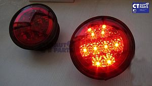 Clear Red LED Trunk Lights For 99-05 Lexus Is200 Is300 Toyota Altezza
