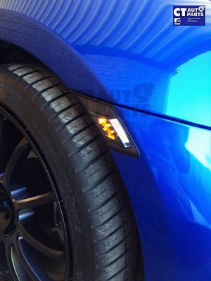 Smoked LED DRL Side Indicator Side Marker For Toyota 86 Gt Gts Subaru Brz Zn6