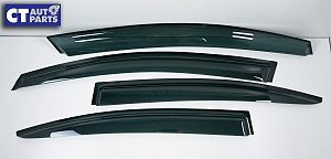 Tape-On Weather Shield / Window Visor For Subaru 2015+ WRX / WRX STI Sedan