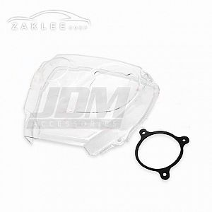 ZAKLEE Clear Timing Belt Cover for NISSAN STAGEA C34 RB25DE/RB25DET