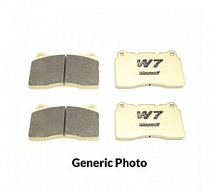"Winmax Brake Pads - W7 Rear (Supra JZA80) - 17"" Wheel"