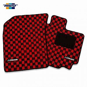 TRUST GReddy Floor Mat Front & Rear Set Red for SUZUKI SWIFT ZC32S