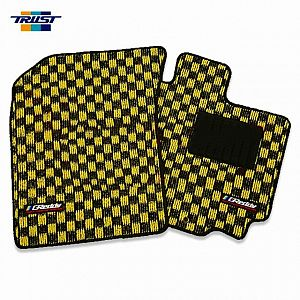 TRUST GReddy Floor Mat Front & Rear Set Yellow SUZUKI SWIFT ZC32S