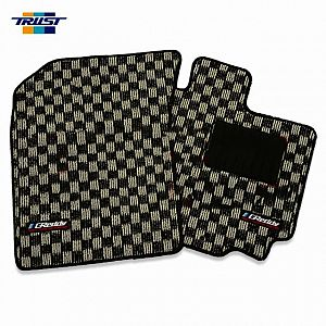 TRUST GReddy Floor Mat Front Set Grey SUZUKI SWIFT SPORT ZC32S