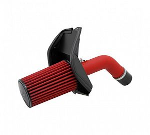 AEM Cold Air Intake System (WRX/STi 08-14) - Wrinkle Red