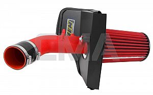 AEM Cold Air Intake System (STi 2015) - Wrinkle Red