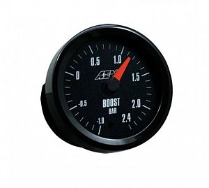 AEM Boost Gauge -1 to 2.4BAR with Analogue Face