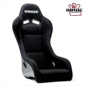 BRIDE Artis III Black Full Bucket Seat Silver FRP Shell