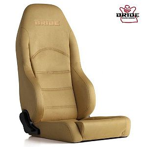 BRIDE Digo III Light Beige Reclining Seat With Heater