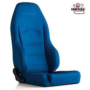 BRIDE Digo III Light Blue Reclining Seat With Heater