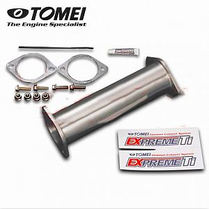 TOMEI Expreme Titanium Ti Cat Straight Pipe SKYLINE GT-R BNR34 RB26